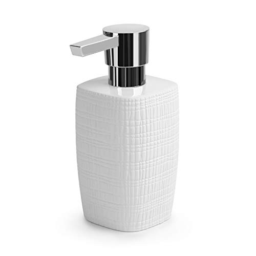 NYKK Dispensadores de loción Cerámica de la Botella de líquido de jabón para el hogar de cerámica Tipo de Prensa de Prensa de emulsión dispensador de emulsión dispensador de jabón jabón (Color : B)