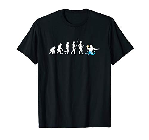Water Polo Player Evolution Waterpolo Swimming Team Sports T-Shirt