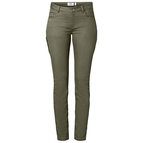 FJALLRAVEN Damen High Coast Stretch Trousers W Hose, Laurel Green, 44