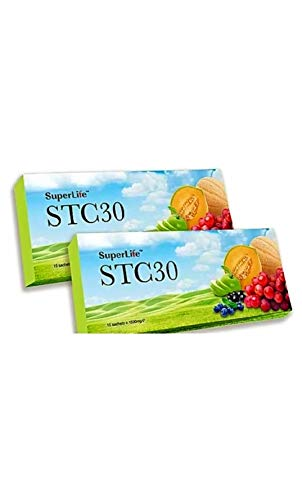Stem Cell Supplement (2packs,30 sact,) Reverse Your Biological Clock with Superlife Stc30, No1 Immunity Booster !Clinicaly Proven to Restore and Reactivate Your Stem Cells (1pk is 15sact)