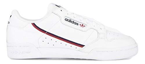 adidas Hombre Continental 80 J Zapatillas Blanco, 38