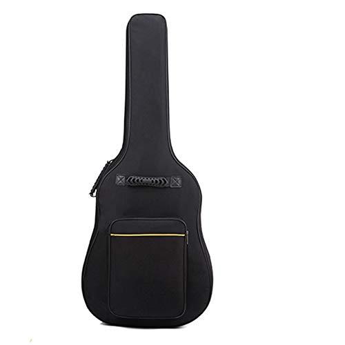 Nrpfell Bolsa Universal para Guitarra EléCtrica de 41 Pulgadas Bolso de Mano Mochila Caja Estuche de Guitarra Suave Acolchado