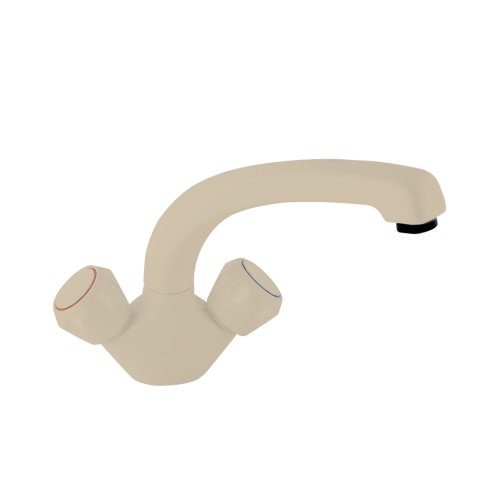 Price comparison product image Deva DCP124 / 004 Profile Mono Sink Mixer Tap with Beige Finish