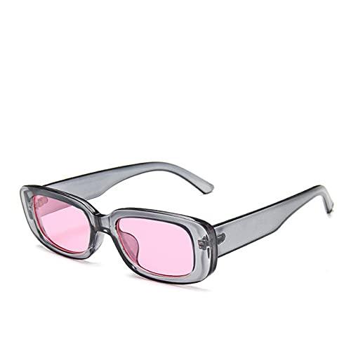 Gafas de Sol Retro de Moda para Mujer Gafas de Sol Retro Gafas de Sol rectangulares Gafas de Mujer UV400-glasses