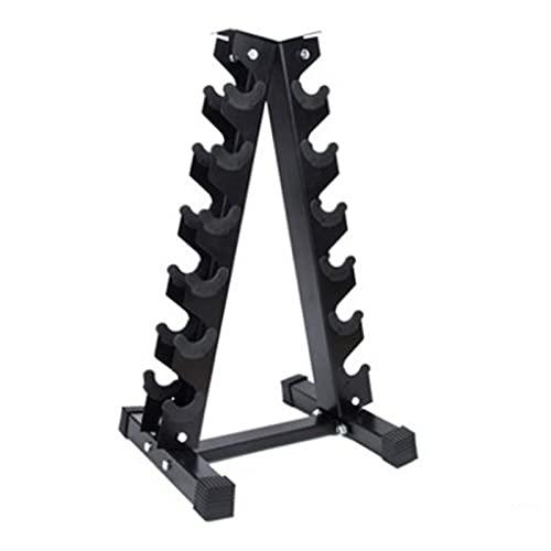 TAOMIAO Rack A Forma di Manubri A Forma di A, Un Telaio Dumbbell Rack Rack Back Back Stand Dumbbell Peso...