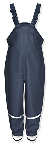 Playshoes Regenlatzhose Textilfutter 405514 Unisex - Kinder Hosen/ Lang, Gr. 92 Blau (marine 11)