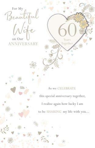 Mooie vrouw verjaardag kaart met gepersonaliseerde mijlpaal opties - vliegen hart - zilver folie afwerking (Ukg-619804)
