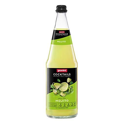 1 x 6 L Granini Mojito Cocktail 1 Liter Glasflaschen Premix MEHRWEG