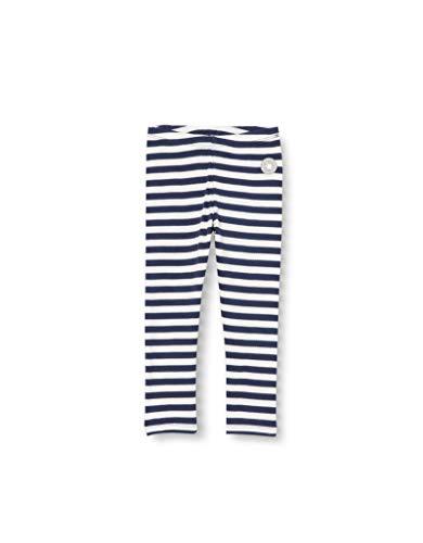 Sigikid Mädchen Mini Bio-Baumwolle, Größe 098-128 Leggings, Blau/Streifen, 122