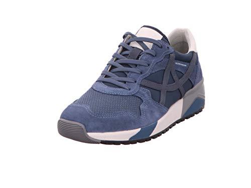 Allrounder, Speed C.Suede 22, Homme Basket_Mode_Basse Bleu bi-matière UK7.5