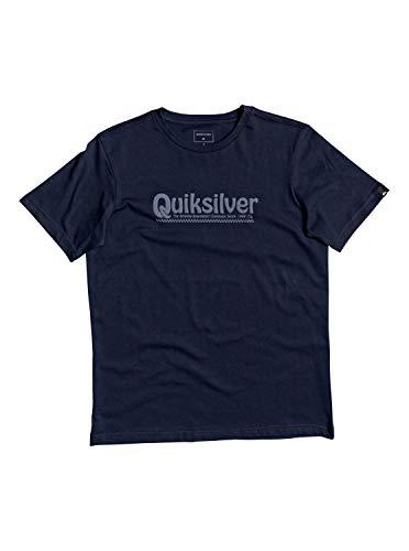 Quiksilver™ New Slang - T-Shirt - Garçon 8-16 Ans - Bleu (Navy Blazer), M