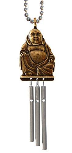 Jacob's Musical Car Charm, Happy Buddha, Budai, Hotei or Putai, Mini Wind Chime