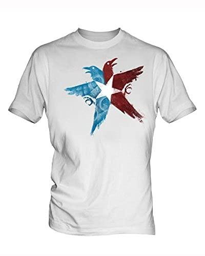 BUOU Infamous Second Son 4 Men's White T Shirt(XL)