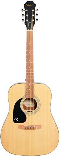 Epiphone Songmaker DR-100 - Guitarra acústica para zurdos, color natural