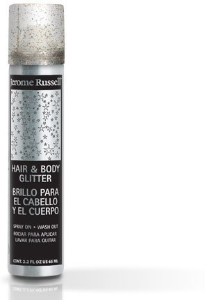 Jerome Russell Tempr'y Glitter Spray for Hair & Body 2.2oz (Multi)