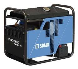 Technic 15000 Te SDMO generador eléctrico 230/400 V 14,4 14, 414, 4 KVA