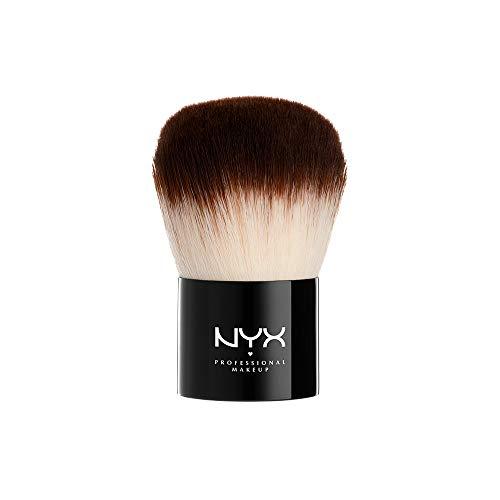 NYX Professional Makeup Pro Brush Kabuki 01 - Puderpinsel, luxuriöser Make-up Pinsel mit abgerundetem Bürstenkopf, für gleichmäßige Puderdeckung
