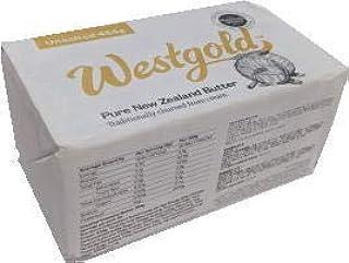 ウエストランド NZ産 グラスフェッドバター 無塩ポンドバター 454g