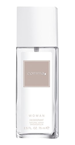 Comma femme/woman, Deodorant, Vaporisateur/Spray, 1er Pack (1 x 75 g)