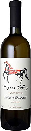 パパリ・ヴァレー スリー・クヴェヴリ・テラスズ チヌリ-ルカツィテリ 2018 白ワイン(アンバーワイン/オレンジワイン) 750ml