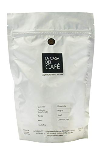Café Torrefacto Gourmet de Brasil en Grano (Paquete 250 grs) (Cocina)