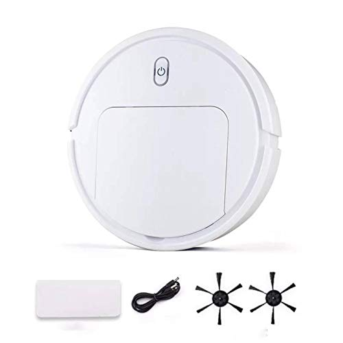 NC Robot Vacuum Cleaner and Sweeper, Household Three-in-One Cleaning Machine, Charging Smart Vacuum Cleaner, Best for Pet Hairs, Hardwood Floors & Medium Carpet Smart Robotic Vacuum Cleaner