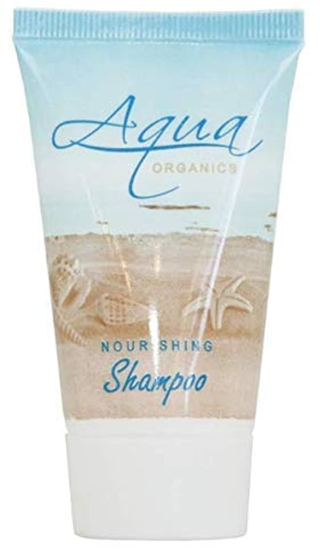 Aqua Organics Shampoo, Travel Size Hotel Amenities, 1 oz (Case of 100)