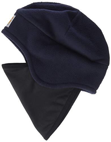 Carhartt Men's Fleece 2 in 1 Headwear, Navy, OFA