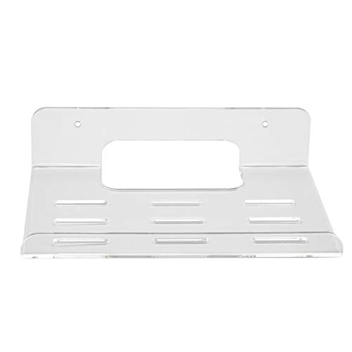 1 Pack Acrylic Wall Mount Bracket Compatible with TP-Link WiFi 6 Router AX1800 (Archer AX21) / AX3000 (Archer AX50), Transparent