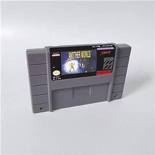 Game card - Game Cartridge 16 Bit SNES , Game Another World - RPG Game US Version English