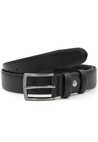 Red Bridge Herren Gürtel Echtleder Ledergürtel Leather Belt RBC Premium Black 90