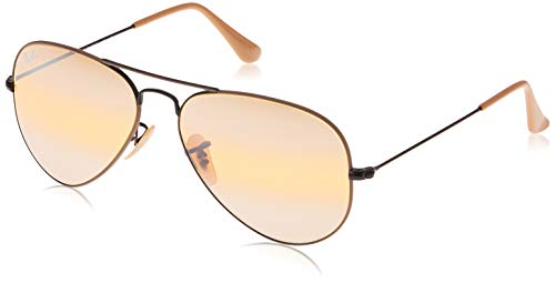 Ray-Ban 0Rb3025 Gafas de Sol, Black On Top Matte Beige, 57 para Hombre