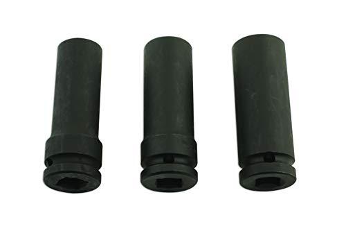 """Laser 5965 - Extractor de Tuercas de Cuerda dañadas, 1/2"""" de diámetro, 3 Unidades"""