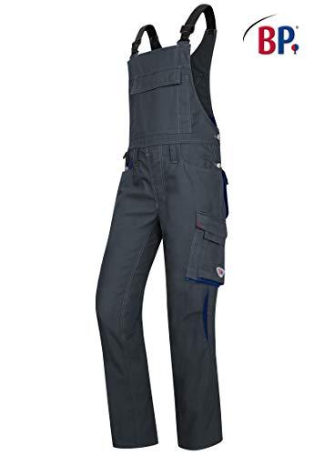 BP Arbeitshose für Männer, Höhere Taille am Rücken, 270,00 g/m² Stoffmischung mit Stretch, anthrazit/schwarz ,52l