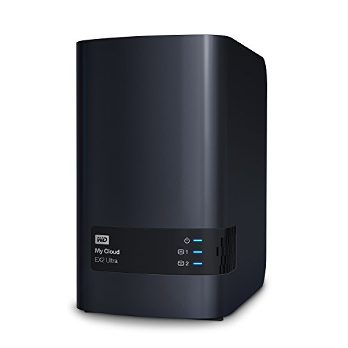 WD My Cloud EX2 Ultra Network Attached Storage, 8 TB