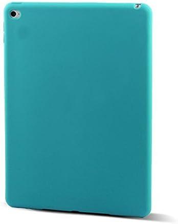 eDealMax Piel goma protectora Volver Funda Azul del trullo Para el iPad 2 del iPad de