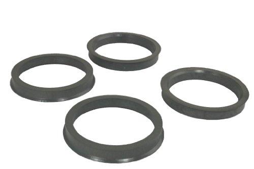 4 Zentrierringe 76,0 mm - 65,1 mm