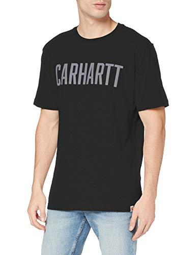 Carhartt Carhartt Herren Maddock Graphic Block Logo Short-sleeve T-shirt T Shirt, Schwarz, M EU