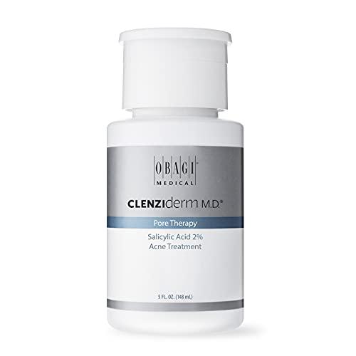 Obagi Medical CLENZIderm M.D. Pore Therapy Acne Treatment, 2% Salicylic Acid Facial Toner for Oily Acne Prone Skin, 5 Fl Oz