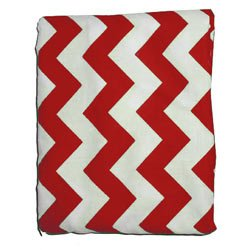 Product Chevron Max 58% OFF Bassinet Sheet - Color: Size: 16x32 Red