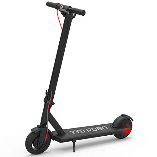 Electric Kick Scooter for Adults - 350W Brushless Motor Max Speed 18.64mph,Max Load 264lbs One-Step Fold for Commute and Travel