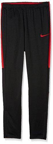 NIKE Niños Dry Pants Academy kpz Pantalón, Otoño-Invierno, Infantil, Color Black/University Red, tamaño Medium