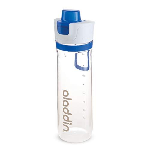 Aladdin Active Hydration Water Bottle 0.8L Blue Tracker, Azul, 8 x 8 x 27 cm