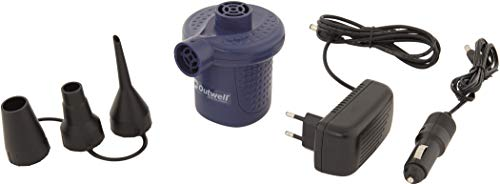Outwell Pumpe Sky, 3 Adapter, schwarz, One Size