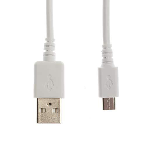 Kingfisher Technology USB-Ladekabel, 90 cm, 5 V, 2 A, für SweetLF SWS57105 Rasierer, Weiß