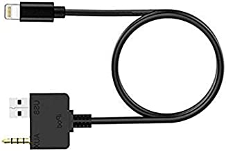 Car 3.5mm Jack Audio AUX in Cable Interface Adapter for i-Phone X Xs Max X XR 8 7 Plus for Hyundai Kia