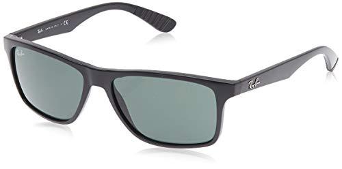 Ray-Ban Unisex RB4234 Sonnenbrille, Schwarz (Gestell: Schwarz, Gläser: Grün Klassisch 601/71), Large (Herstellergröße: 58)