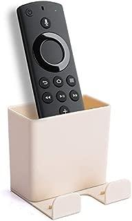 Everstars Fire TV Stick リモコンラック Fire TV Stick ケース Fire TV Stick 収納ボックス Fire TV Stickブラケット Fire TV Stick ケースFire TV Stick 4K 収納ボックス Amazonリモコン収納ボックス (ベージュ)