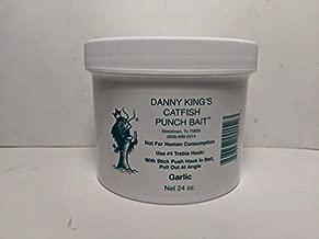 Danny King Punch Bait - Garlic, 24 oz Jar, Catfish Bait Made in The USA