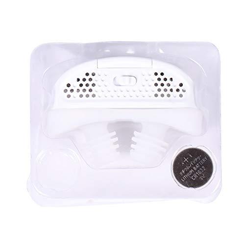Electric Silicone Anti-Snurken Nose Clip Neus Stop Ademluchttoestellen Guardian Hulp Van De Slaap Het Verhinderen Van Snurken,White